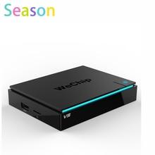 Оригинал WeChip S905X V5 Smart Android TV Box 6.0 2 Г/16 Г KDPlayer 16.1 BT 4.0 Dual Wifi Медиа-Плеер лучше, чем x96 KDPlayer