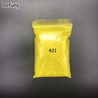 500g/bag Wholesale Pearl Powder Pigment Lemon yellow Mica pearl powder pearlescent pigment for Eyeshadow Nail polish