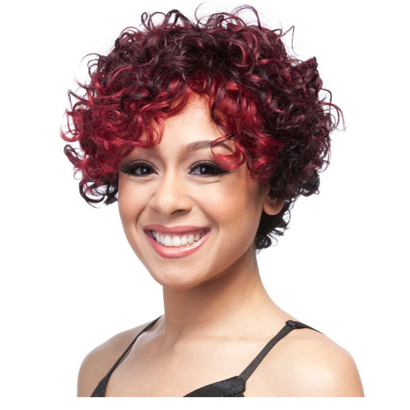 natural red curly wig white wigs online