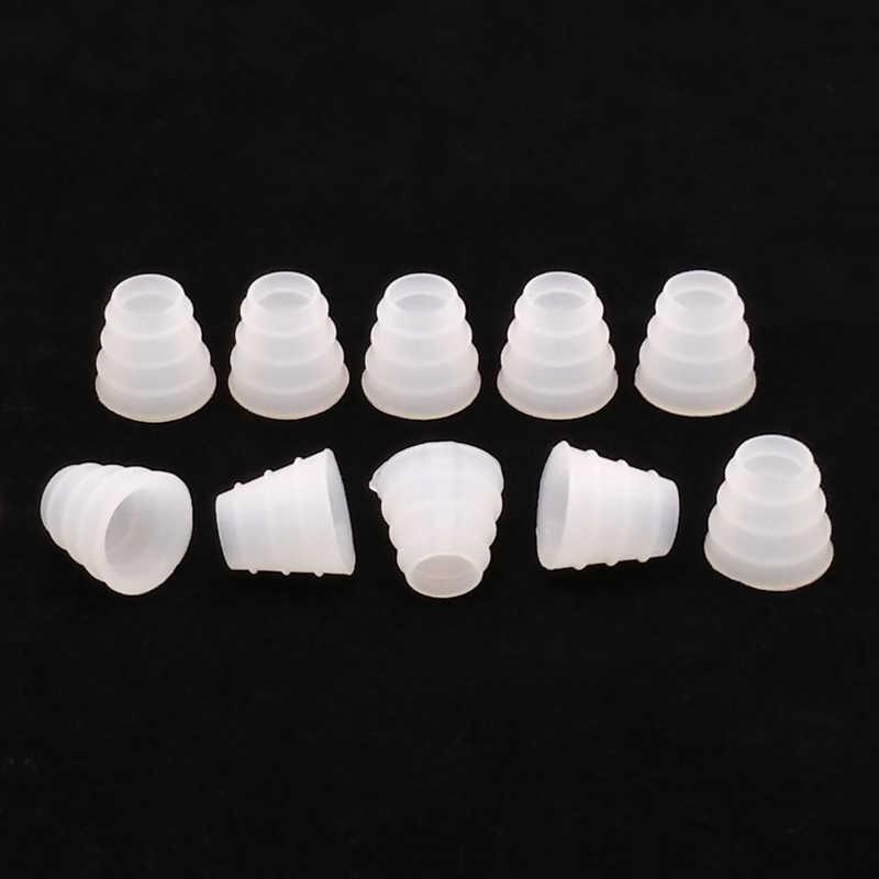 10 teile/paket Weiß Shisha Schlauch Gromment Gummidichtung Für Shisha/Wasser Rohr/Shisha/Chicha/Narguile Zubehör SH09014