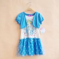 Original Brand 5pcs Lot New Arrival Cinderella Tutu Dresses For 4 6yrs Baby Girls Princess Dress