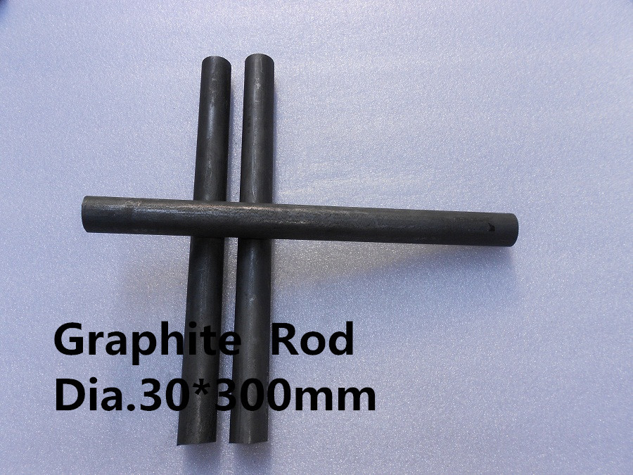 Dia.30*300mm  Graphite  Rod     /Graphite Round Rod Oversized Tolerance /FREE SHIPPING 1pcs nokia 200 asha graphite