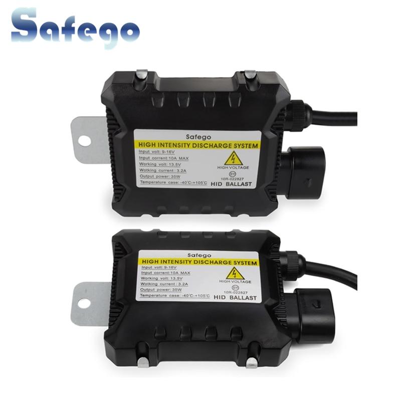 Safego 2X 12V ქსენონის HID - მანქანის განათება