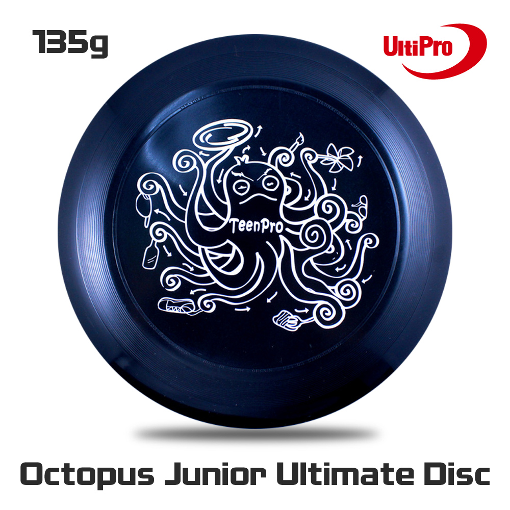 Free Shipping 135g Professional Junior UltiPro Flying Disc Octopus Junior Ultimate Disc
