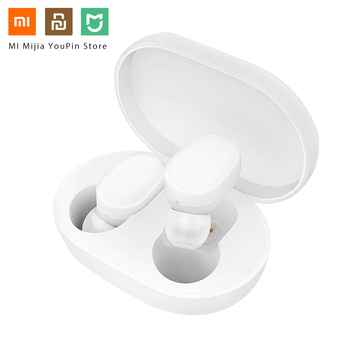 Original Xiaomi Airdots TWS Bluetooth 5.0 Earphone Youth Version Touch Control with Charging Box Mini Wireless Earphones 1 Pair