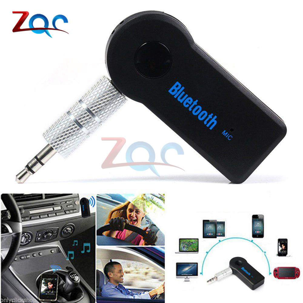 V3.0 Blutooth Wireless For Car Music Audio Bluetooth Receiver Adapter Aux 3.5mm A2dp For Headphone Reciever Jack Handsfree