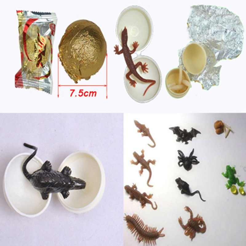 Random Style 1Pcs New April Fool's Day Props Entire Toy Candy Scary Simulation Tricky Funny Surprised Chocolate Candies