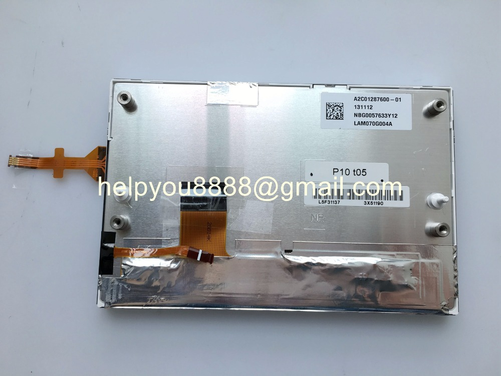 Brand new 7 0 inch LCD Screen LAM070G004A GCX156AKM E For Peugeot 208 LCD Display Touch