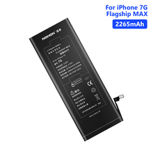 NOHON Real 2265mAh Lithium Battery Batteries For Replacement Phone Bateria iPhone 7 7G iPhone7 Free Tools Retail Package