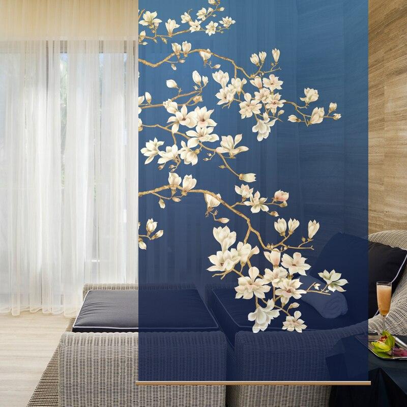 100 cm x 200 cm Personalizzabile schermo del Tessuto Appeso tenda interrompe l' ingresso Morbido tagliato soggiorno Xuan Guan Guan Ping Rullo