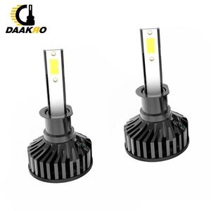 Image 5 - F2 led Auto Scheinwerfer Led lampe 9006 HB4 H1 9005 H10 HB3 H4 9003 HB2 H8 H9 H11 H7 4000lm auto Lampen Nebel Lichter Canbus Dropshipping