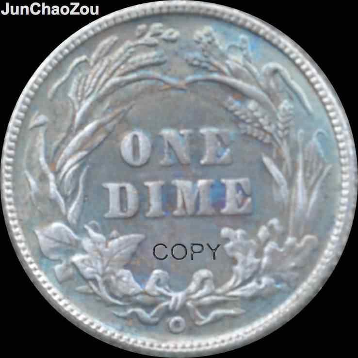 الولايات المتحدة 1900 يا واحد الدايم Cupronicekl الفضة مطلي النقود المتماثلة