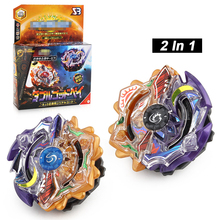 2Pcs/Lot Beybleyd Burst Beybleyd Toys for Children with Launcher in Box Metal Fusion Spinning Top Bey Blade Blades Toy For Kids