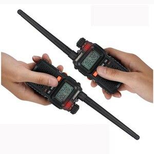Image 5 - 2 PCS Baofeng UV 3R 플러스 미니 워키 토키 CB 햄 VHF UHF 라디오 방송국 트랜시버 Boafeng Amador Communicator Woki Toki PTT