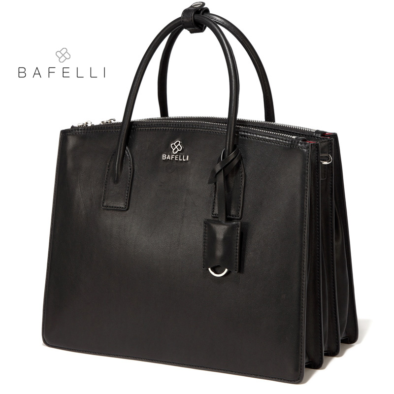 BAFELLI 2018 new arrival genuine leather laptop bag high capacity briefcases handbag black bolsa feminina women bag