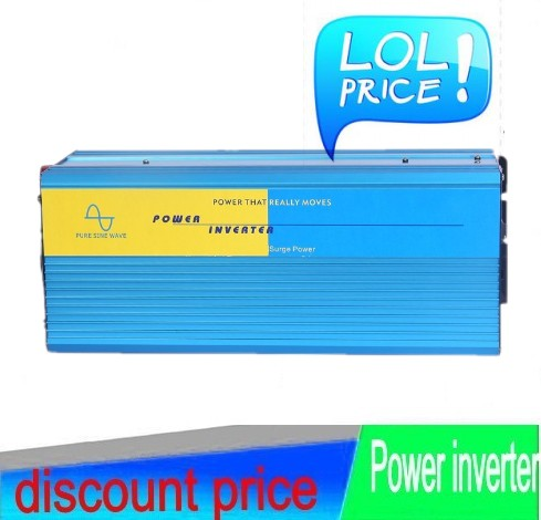 12V DC to AC Solar Inverter 3000W Pure sine wave power inverter 3000W onda sinusoidale pura energia solare