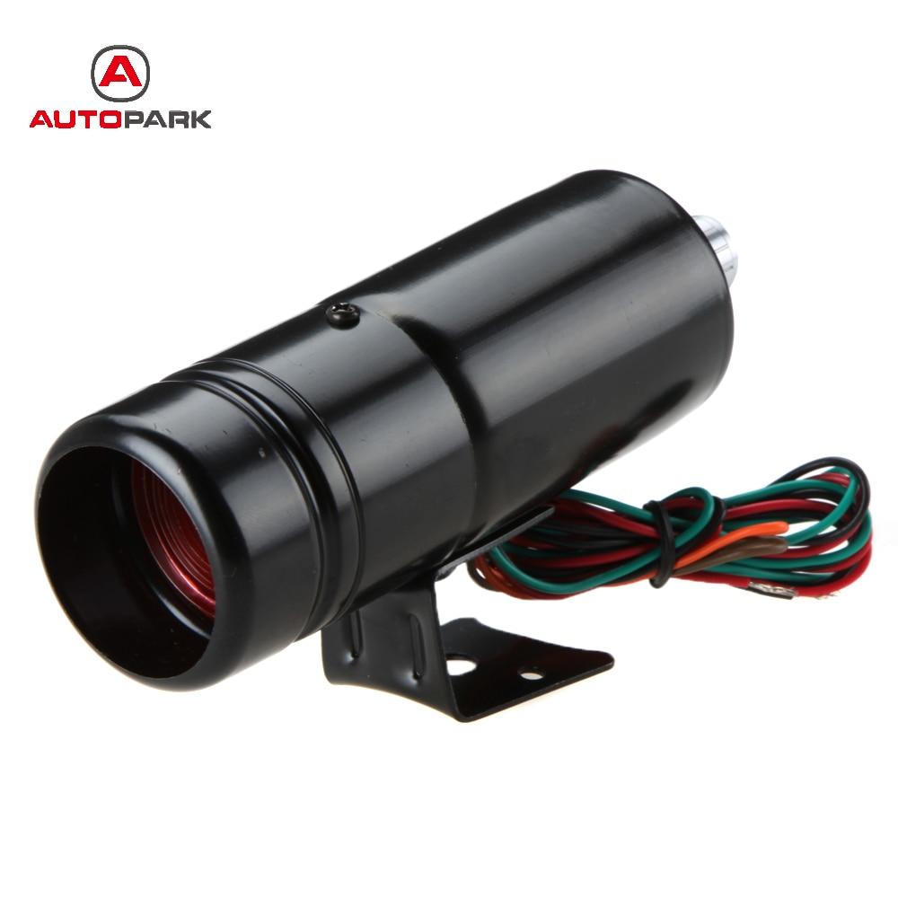 12V Adjustable Auto Car Tachometer Tacho Gauge 1K~11K Shift Light Blue LED L2D6