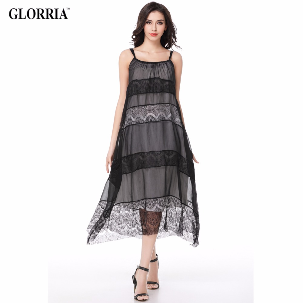 Glorria women boho long loose maternity lace dresses 2017 summer glorria women boho long loose maternity lace dresses 2017 summer suspender sundress clothing female boho sexy beach casual robe in dresses from womens ombrellifo Choice Image
