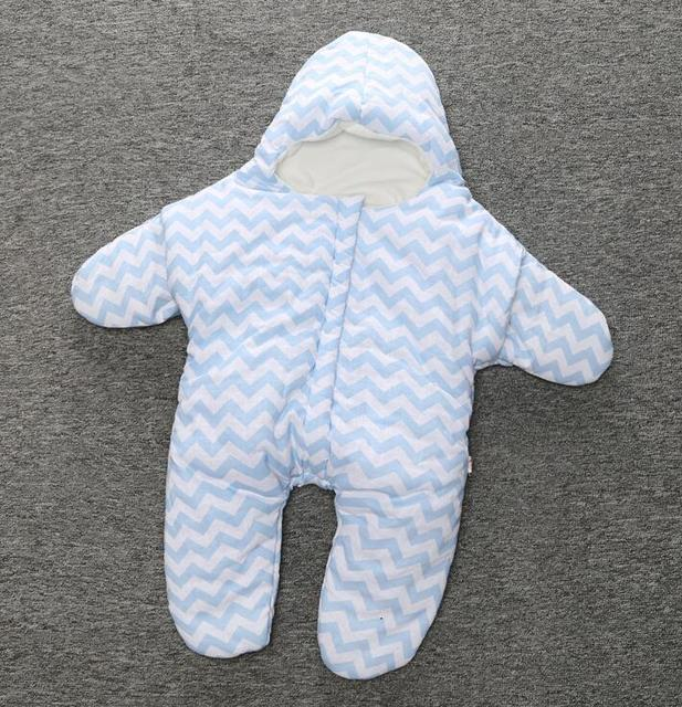 2017 hot sales baby thicken cotton starfish sleep bag kids inter stroller bed swaddle blanket wrap bedding quilt