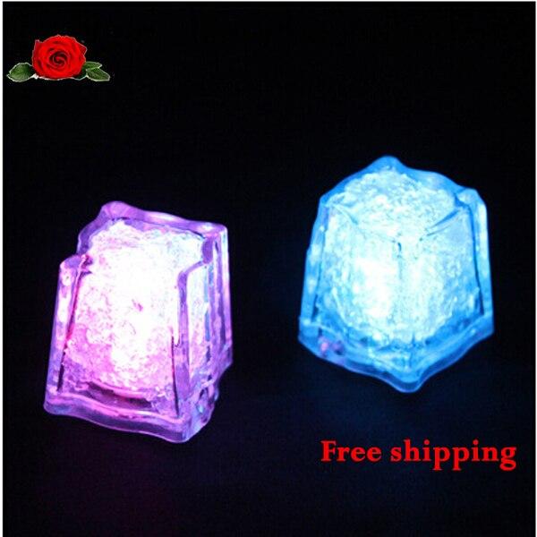 wholesale high quality wedding celebration led flash ice cubes party