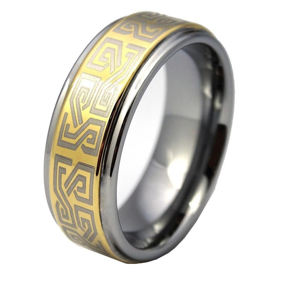 Gold ring designs for men new design gold finger ring-in Rings ...
