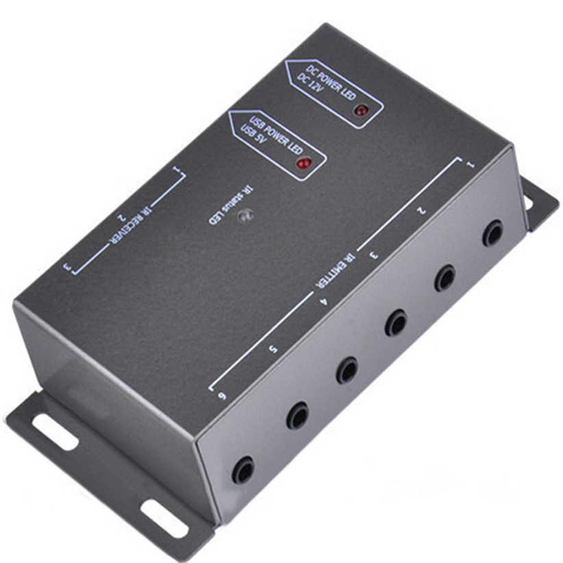 ИК дистанционный расширитель 8 излучателей 1 приемник инфракрасный ретранслятор скрытая система Комплект ЕС Futural цифровой Прямая доставка AUGG11