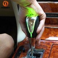 POSSBAY Universal Car Gear Knob Manual Transmission LED Gear Shift Knob for Kia Opel Renault Interior Decoration Shift Lever