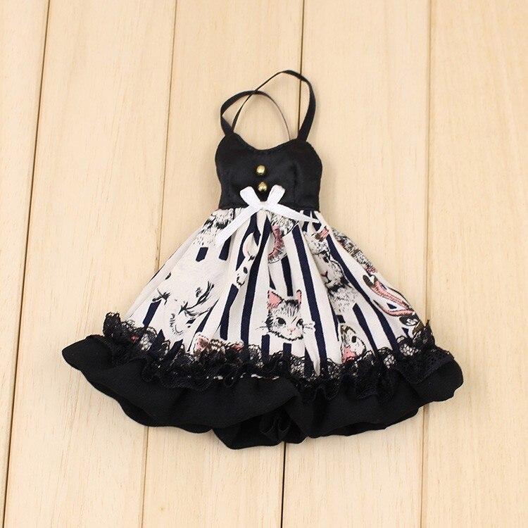 Neo Blythe Doll Black Strap Dress 1