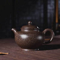 220ml Yixing Purple Sand Tea Pot Genuine Ziyu Gold Clay Raw Ore Purple Clay Teapot Kung Fu Tea Kettle Free Shipping