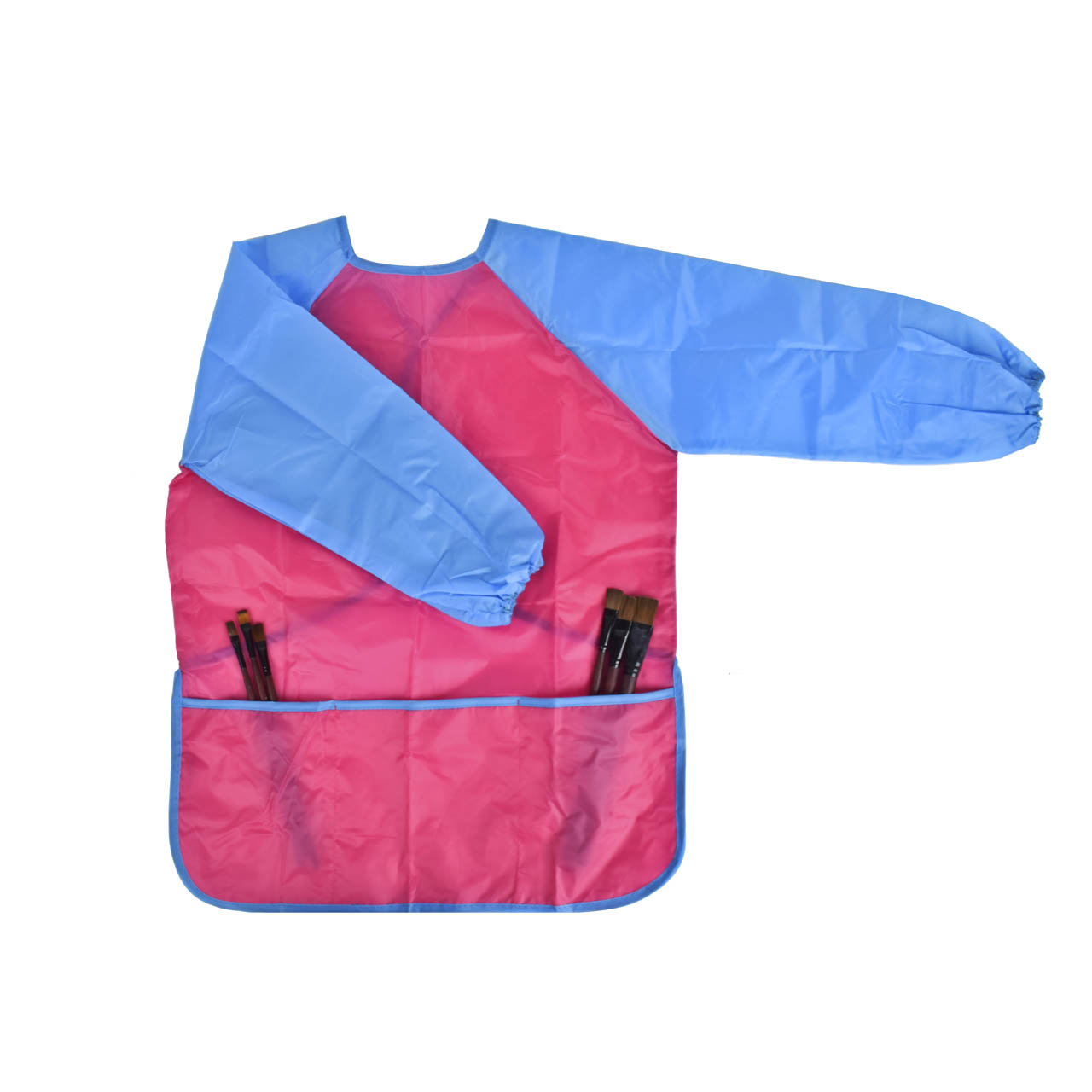 2016 Children Baby Todder Waterproof Long Sleeve Art Smock Apron Eating Smock for Painting Art Class Art Craft Painting Apron