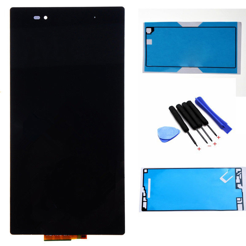 ФОТО 100% tested New LCD For Sony Xperia Z Ultra XL39h C6802 C6806 LCD Display touch screen digitizer +free tapes+tools