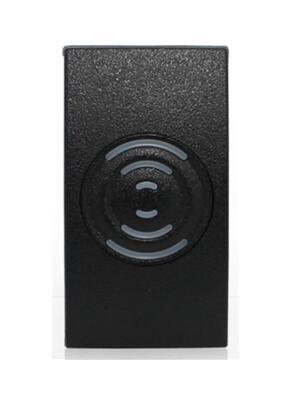 все цены на  RFID IC reader, ip65 waterproof black color MF card reader for door access control system weigand34 13.56MHZ sm:kr201,min:5pcs  онлайн