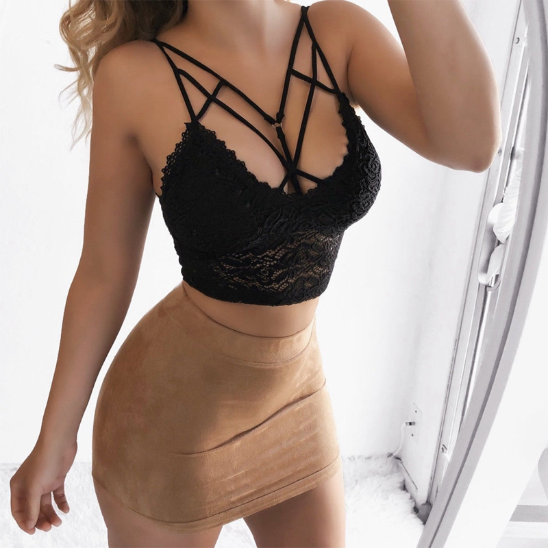 Women Camisole Lace Tube Top <font><b>Sexy</b></font> Vest CamisoleS Crop Top Female Camisola De Renda <font><b>Haut</b></font> <font><b>Femme</b></font> Clothing image