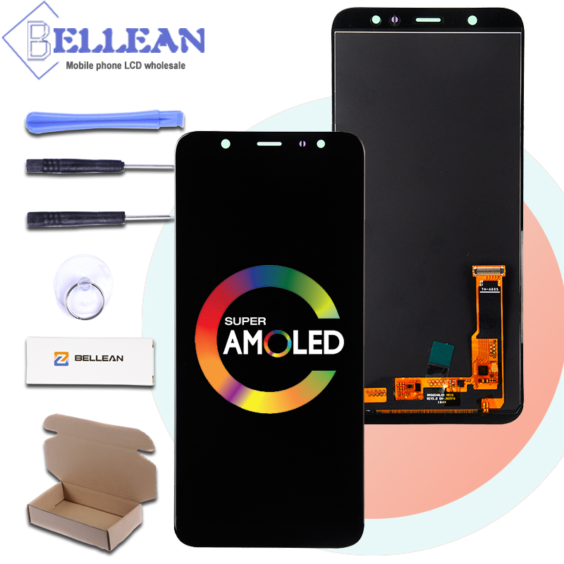 Catteny Free Shipping A6 2018 Lcd Screen For Samsung Galaxy A605 Lcd A605F A6 Plus Display With Touch Screen Digitizer AssemblyCatteny Free Shipping A6 2018 Lcd Screen For Samsung Galaxy A605 Lcd A605F A6 Plus Display With Touch Screen Digitizer Assembly