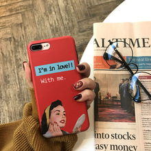 SZYHOME Phone Cases For iPhone X 6 6s 7 8 Plus Retro Narciss
