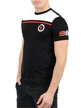 Moto GP Хорхе Лоренцо 99 футболки спортивные всадники команда стеллажи мотоцикл Для мужчин; Повседневная футболка черный