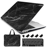 Laptop Case Sleeve Keyboard Cover 4in1 for MacBook Air 11 13/Pro Retina 13 15 inch Touch Bar 2018 2017 2016 Hard Shell Marble
