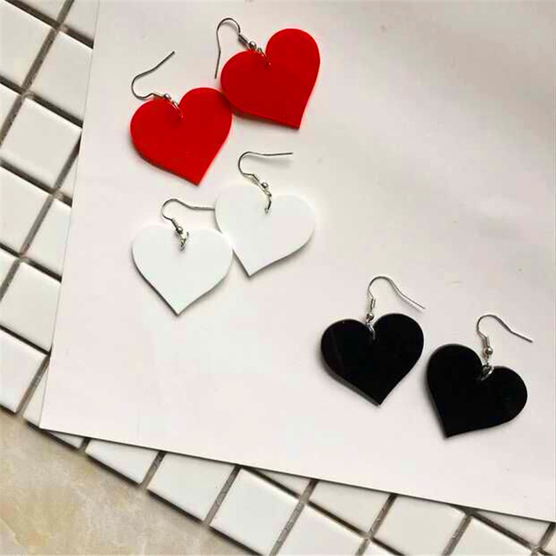 Оригинал Винтаж Harajuku Сердце Девушки Sweet Hearts любовь серьги темперамент yakeli серьги-гвоздики ASOS серьги украшают статью