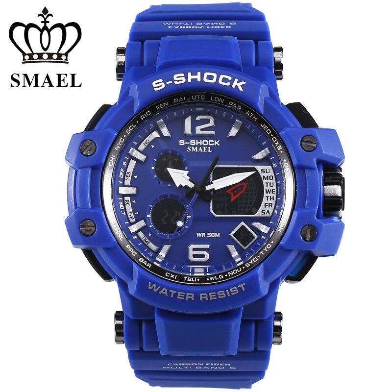 Men s Wristwatches Sport LED Digital Watch Reloj Hombre relogio masculino Digital Watches montre femme relogio