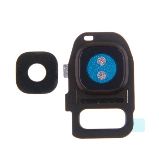 buy popular 537c1 ebcb6 US $1.99 |Camera Lens Cover Frame Holder Repair For Samsung GALAXY S7 G930  S7 Edge G935 Rear Back Camera Lens Cover Circle+Adhesive-in Mobile Phone ...