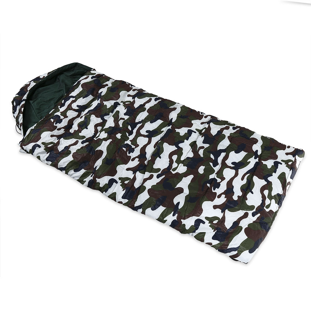 Foldable Splicing Camouflage Envelope Sleeping Bag ...