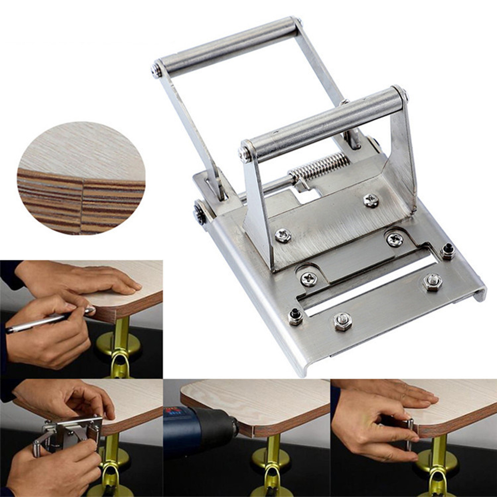 Mini Cutter Durable Hardware Reusable Stainless Steel Manual Edge Banding Trimmer Woodworking Tool Sharp Accurate Easy Use