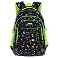 Fashion Grade1-5 Orthopedic Breathable Flower Primary School Bags Kids Backpack Teenagers Boys Girls Mochila Schoolbags Satchel