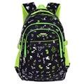 Fashion Grade1-5 Orthopedic Breathable Flower Primary School Bags Kids Backpack Teenagers Boys Girls Mochila Schoolbags Satchel