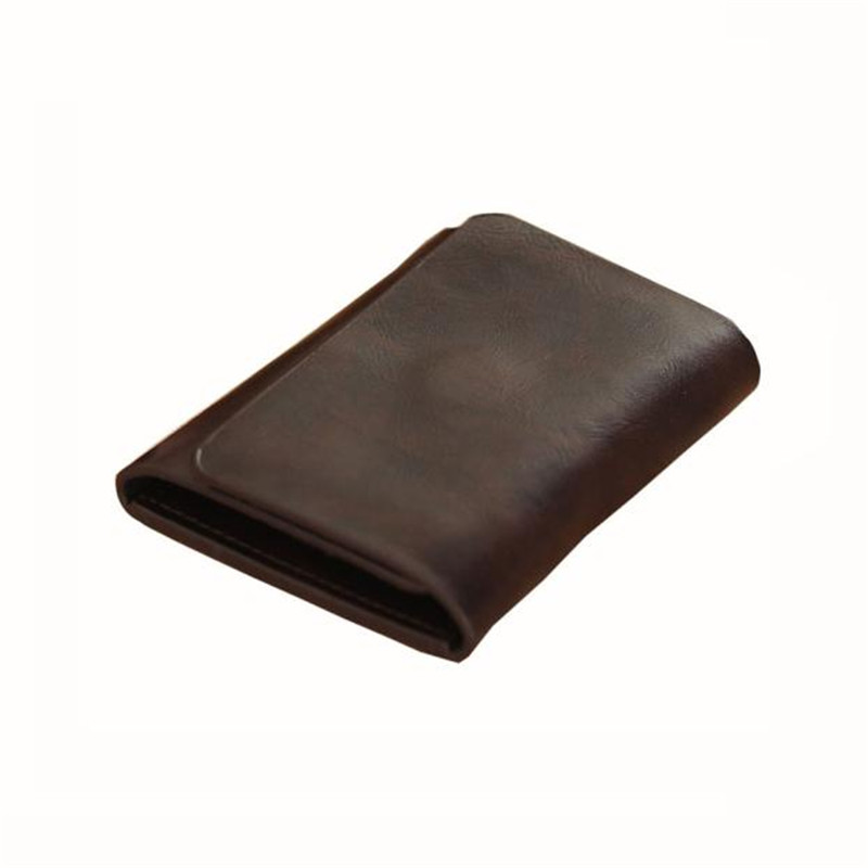 Men wallets Fashion brand mens purse male leather credit card holder cash receipt organizer bifold wallet  pocket gift wholesale цена 2016