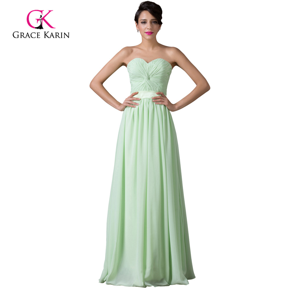 Compare prices on mint green bridesmaids dresses online shopping modest grace karin cheap long mint green bridesmaid dresses under 50 chiffon bridesmaids dress 2017 vestidos ombrellifo Images