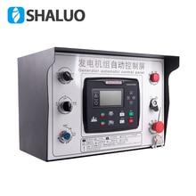 Conjunto de generador de diésel con cabina de control automático, protección de parada de Arranque automático, 6120U, 6110U