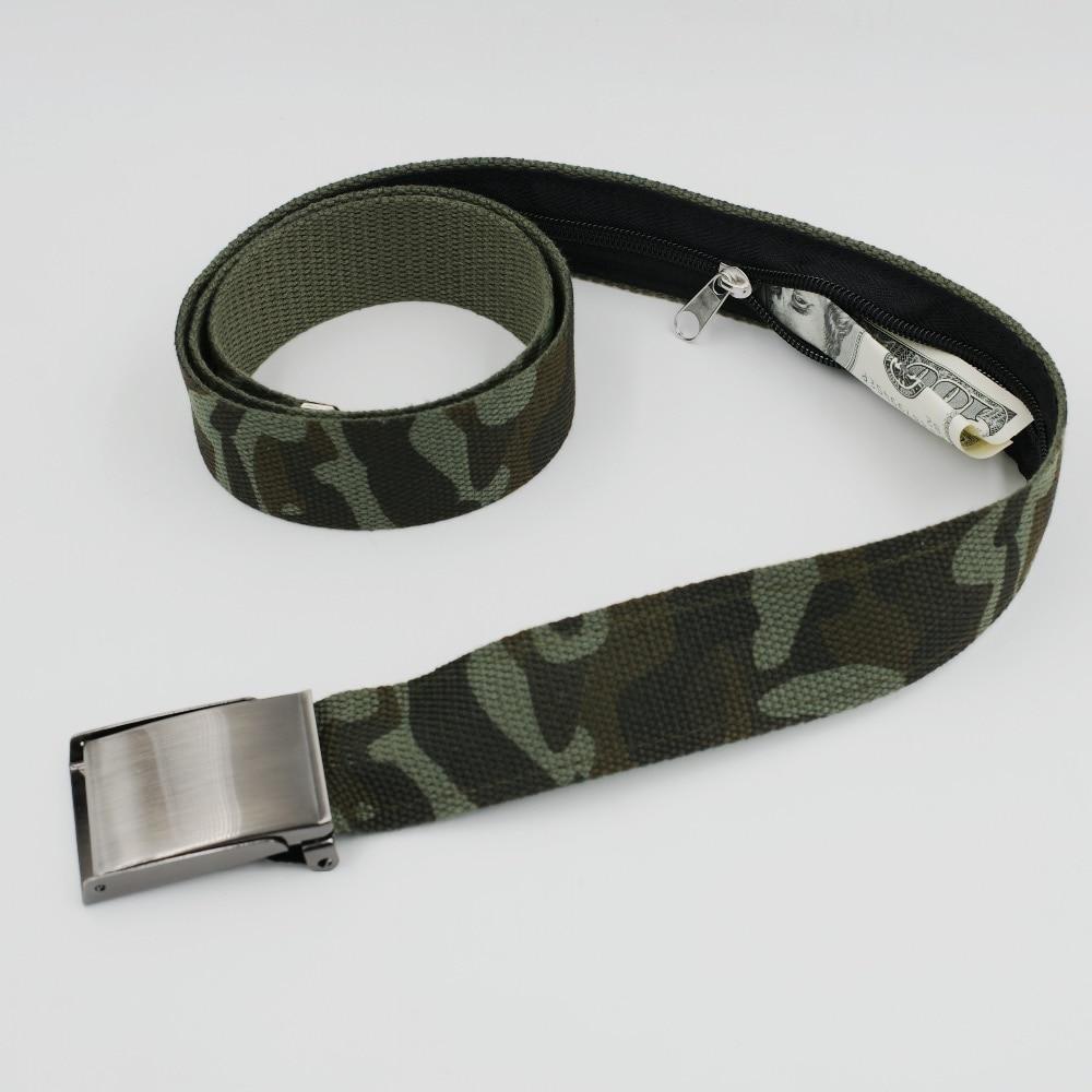 3.8 Adjustable Secret Pocket Hidden Pocket For Money Belt