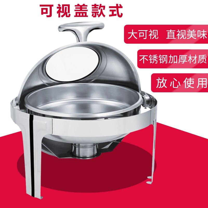 Poêle à buffet rabattable chauffage électrique rond buffy four petit déjeuner cuisinière isolation four distribution plaque de chaleur
