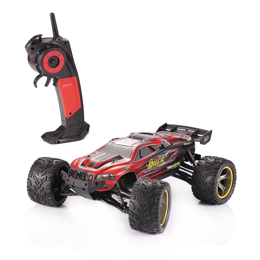 GPTOYS S912 2.4G RC Car Children Crawler Drift Remote Control Bigfoot Speed Waterproof Shockproof Truck For Kids Christmas Gift